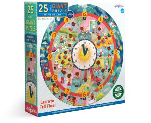 Around The Clock Puzzle • Ages 3+ • $21.99
