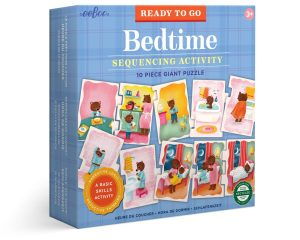Ready to Go Bedtime Puzzle • Ages 3+ • $17.99