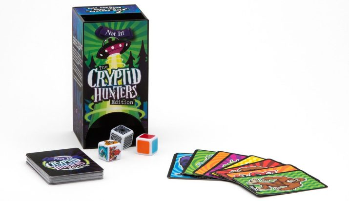 Not It! The Cryptid Hunters Edition • Ages 6+ • $15.99-$17.99